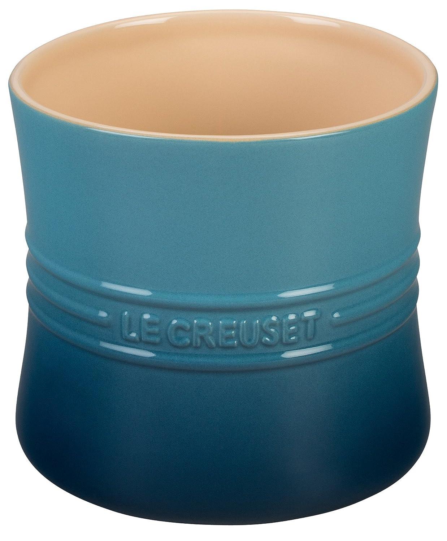 Le Creuset Stoneware 2 3/4qt. Utensil Crock, Caribbean Le Creuset of America PG1003-17