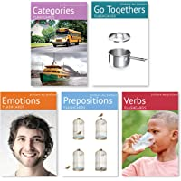Picture My Picture Feelings and Emotions, Prepositions, Verbs, Categories and Go Togethers Flash Card Pack | Speech…