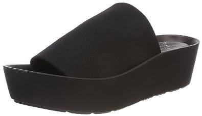 Amazonas, Sandales Plateforme Femme, Noir (Negro 1), 39 EUKmb
