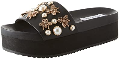 275a38ee71dd Steve Madden Women s Adorn Open Toe Sandals  Amazon.co.uk  Shoes   Bags