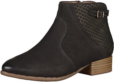 Tamaris Damenschuhe 1-1-25312-26 Damen Stiefel Chelsea Boots Schwarz (Black 91cde6886a