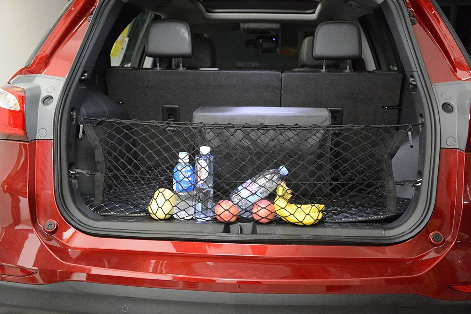 Kaungka Cargo Net Nylon Rear Trunk for 2013-2017 Hyundai Santa Fe Sport Santa Fe Tucson Guangzhou Kai-long Auto Accessories Ltd.