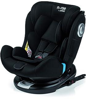 Nurse Driver 2 Silla de Coche Grupo 0 1 2 3, desde Recién Nacido hasta los 36 kg., Instalación con el Cinturón del Automóvil, Máxima Reclinación, Incluye Reductor, Color Negro: Amazon.es: Bebé