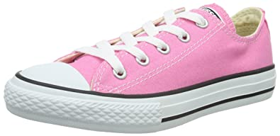 Converse Junior Chuck Taylor AS Core Ox Lace-Up Pink 3J238 2 UK