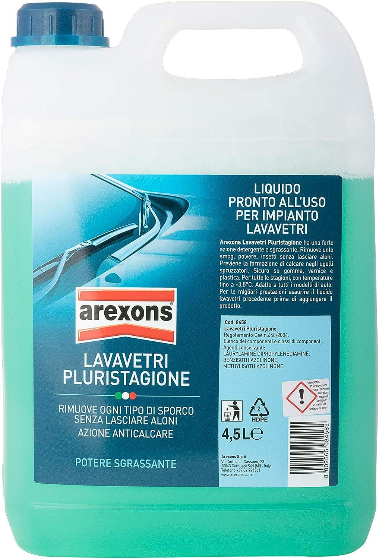 AREXONS LAVAVETRI PLURISTAGIONE -3.5 °C Liquido lavavetri auto 4.5