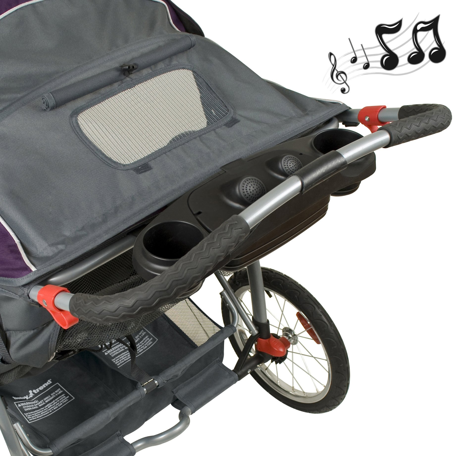 Baby Trend Expedition Double Jogger, Elixer by Baby Trend (Image #3)