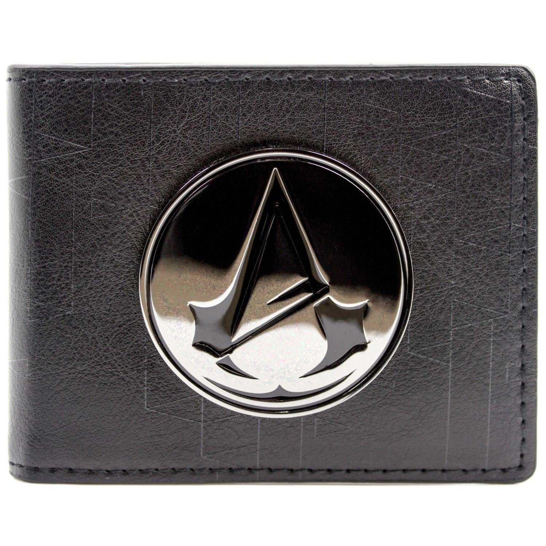 Ubisoft Assassins Creed Unity Symbol Badge Nero portafoglio 27532