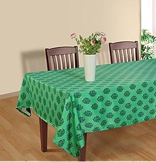 Amazoncom Shalinindia Tablecloth 52 X 76 Inches For 4 6 Seater 4