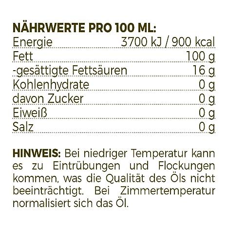 Aceite de comino negro orgánico MeaVita, prensado en frío, 1 paquete (1 x 500 ml): Amazon.es: Alimentación y bebidas
