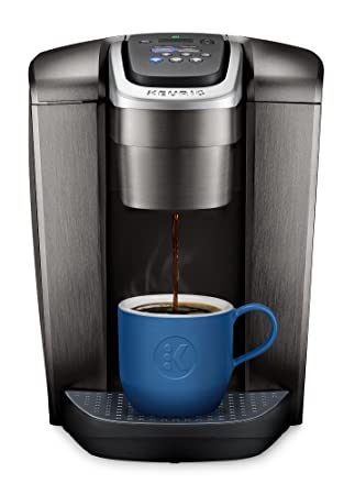 Review Keurig K-Elite K Single Serve K-Cup Pod Maker, with Strong Temperature Control, Iced Coffee Capability, 12oz Brew Size, Brushed Slate