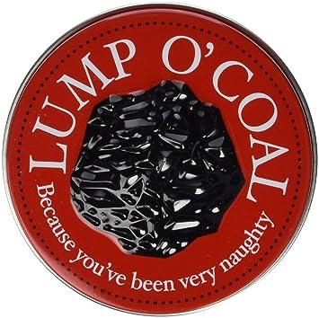 Amazoncom  Candy Tin Lump O Coal Coal Shaped Gum  Lump Of Coal