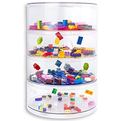 BLOKPOD Toy U0026 Lego Storage Bin Organizer Multipurpose Stackable Storage  Solution Large Capacity: 17u201d