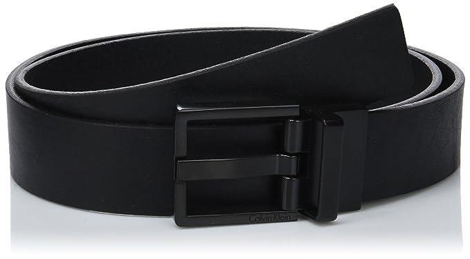 Calvin Klein Monochrome Adj. Buckle Belt, Ceinture Homme, Noir (Black 001),  110 (Taille Fabricant  95)  Amazon.fr  Vêtements et accessoires 560a676a6fc