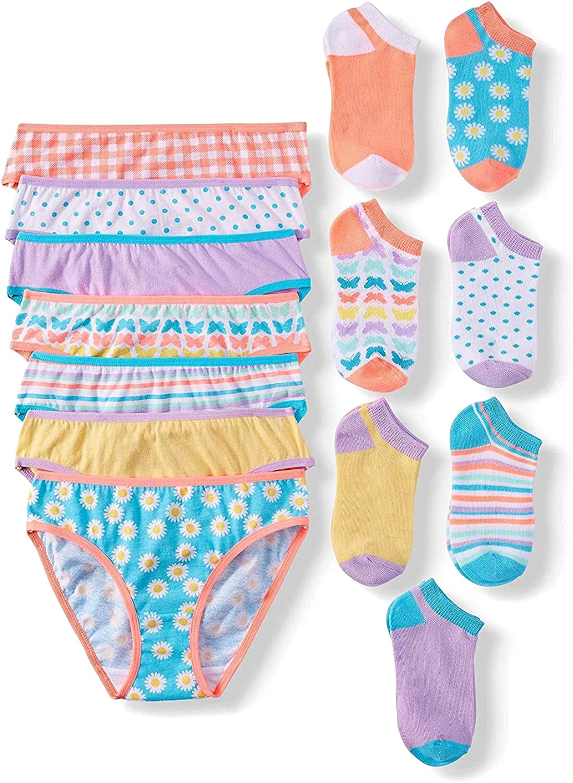 New Justice Girls Underwear Multiple Patterns /& Sizes Oh So Soft Bikini Panty