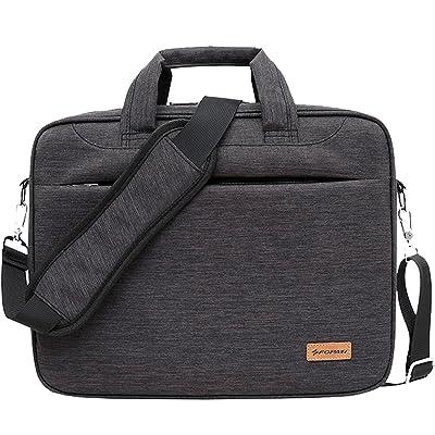 14.1 inch Laptop Bag Briefcase Shoulder Messenger Bag Water Repellent Notebook Bag Satchel Bussiness Carrying Case Women / Men Handbag Laptop Sleeve for Apple ASUS Acer Samsung Lenovo Chromebook 14 new