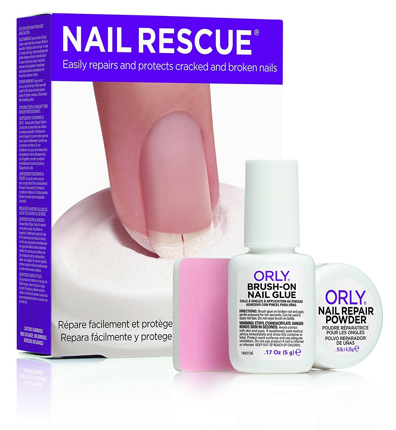 Amazon.com : Orly Nail Rescue Kit : Nail Repair Products : Beauty
