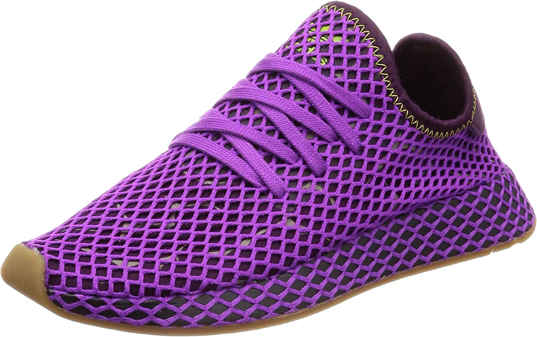 adidas Originals Deerupt Runner, Shock Purple-Red Night-Shock Yellow, 13,5