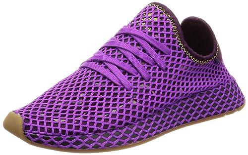 adidas Originals Deerupt Runner, Shock Purple Red Night Shock Yellow, 13,5