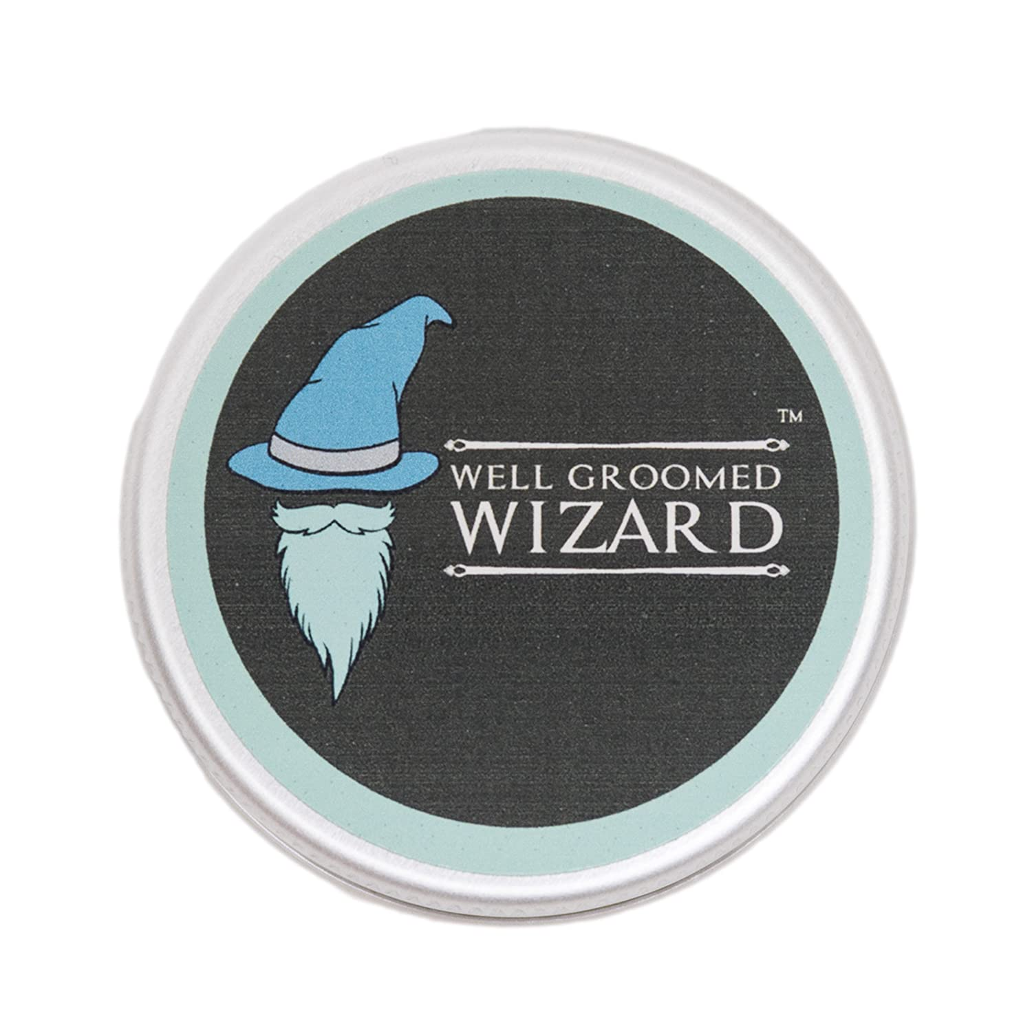 Well Groomed Wizard Beard Wax For Men, Strong Hold Moustache and Beard Wax, beeswax & lemon - 15ml