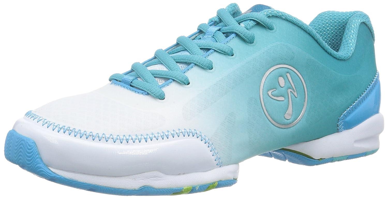 Zumba Footwear ZUMBAFLEX Classic, Damen Hallenschuhe, Silber (Black/Silver), 35.5 EU (2.5 Damen UK)
