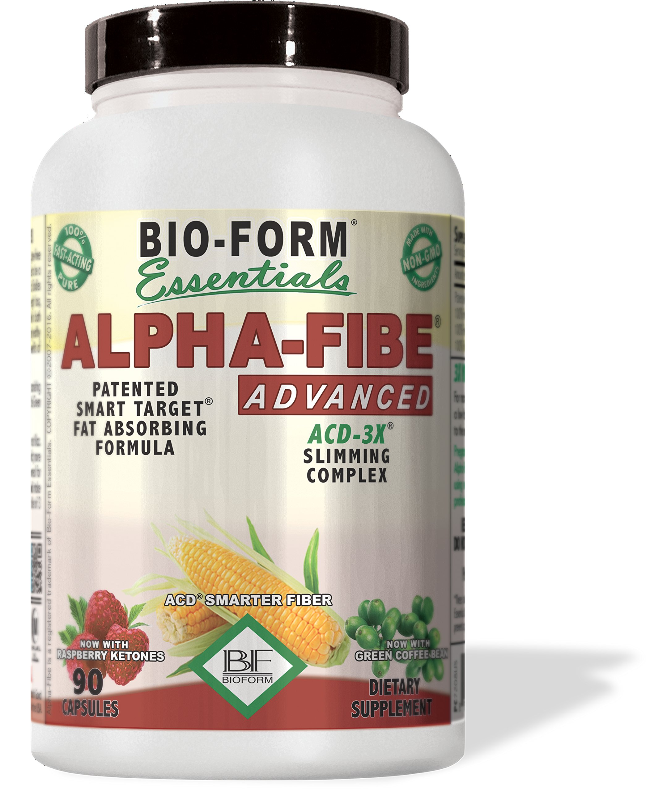 Alpha-Fibe Advanced ACD-3X Smart Weight Loss Complex (90 Fast-Acting Capsules) by Bio-Form by Alpha-Fibe