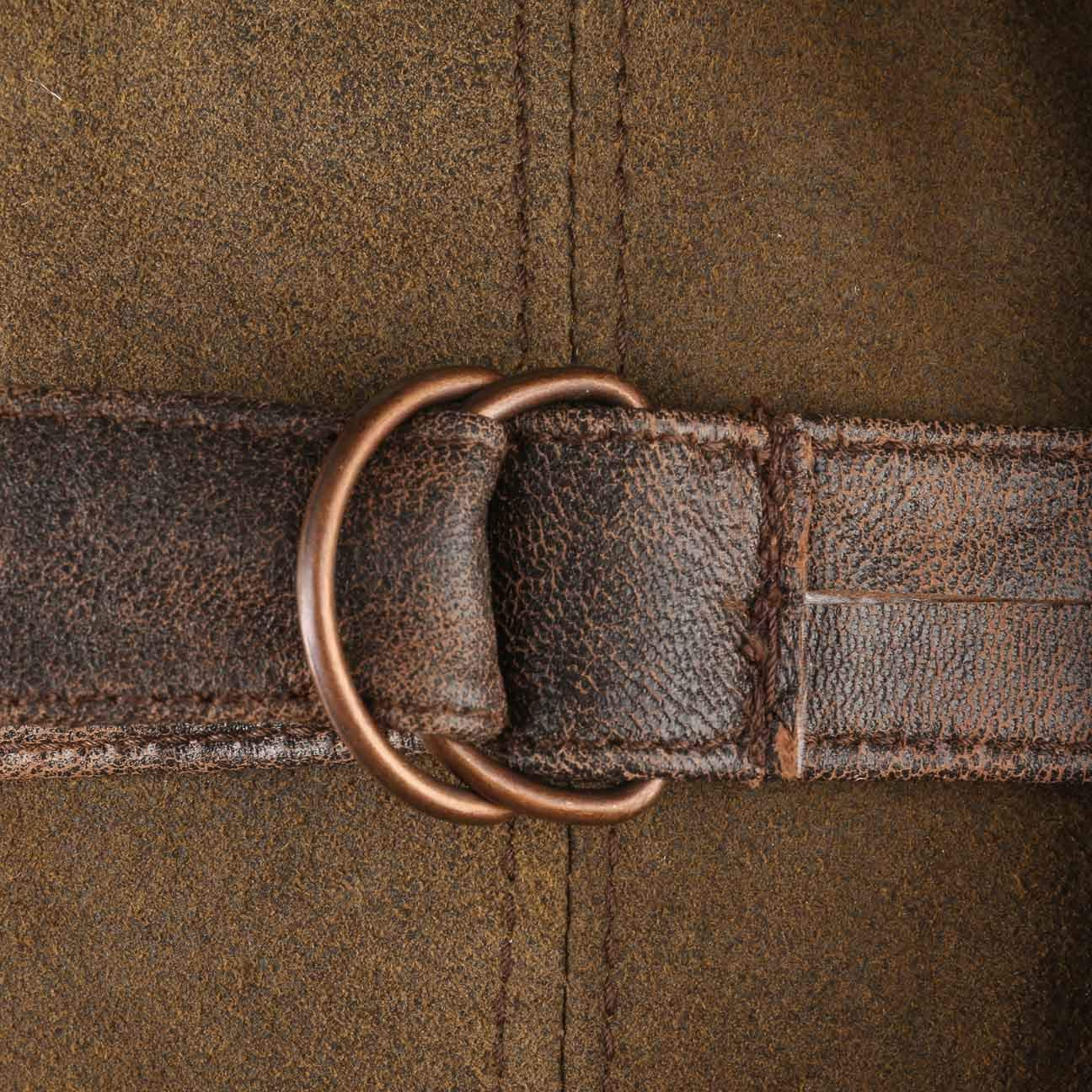 1460f76a931b9 Stetson Lamb Nappa Leather Aviator Hat Trapper chapka (XXL (62-63 cm) -  Brown)  Amazon.co.uk  Clothing