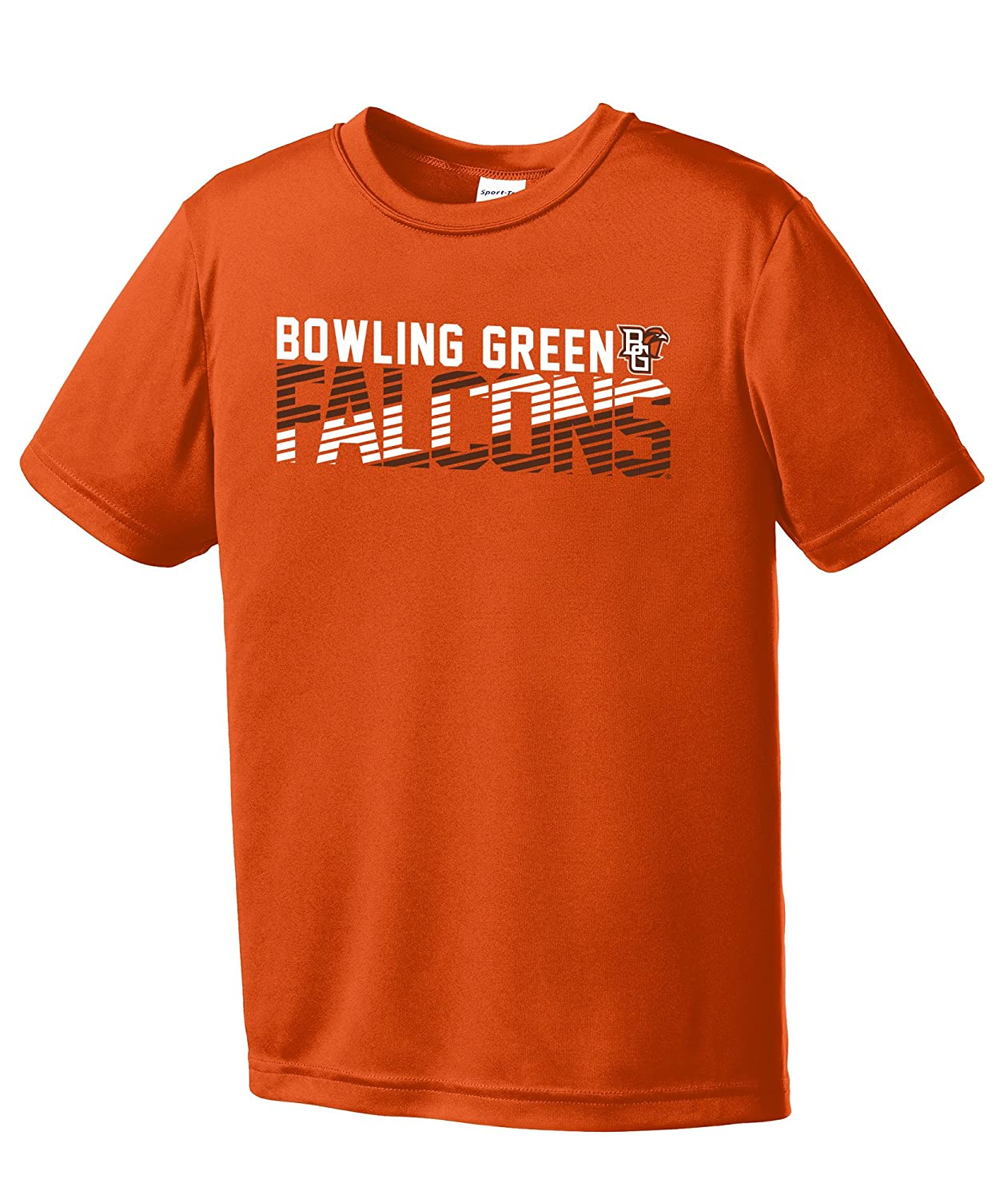 Image One Boys NCAA Diagonal Youth Short Sleeve Polyester Competitor T-Shirt