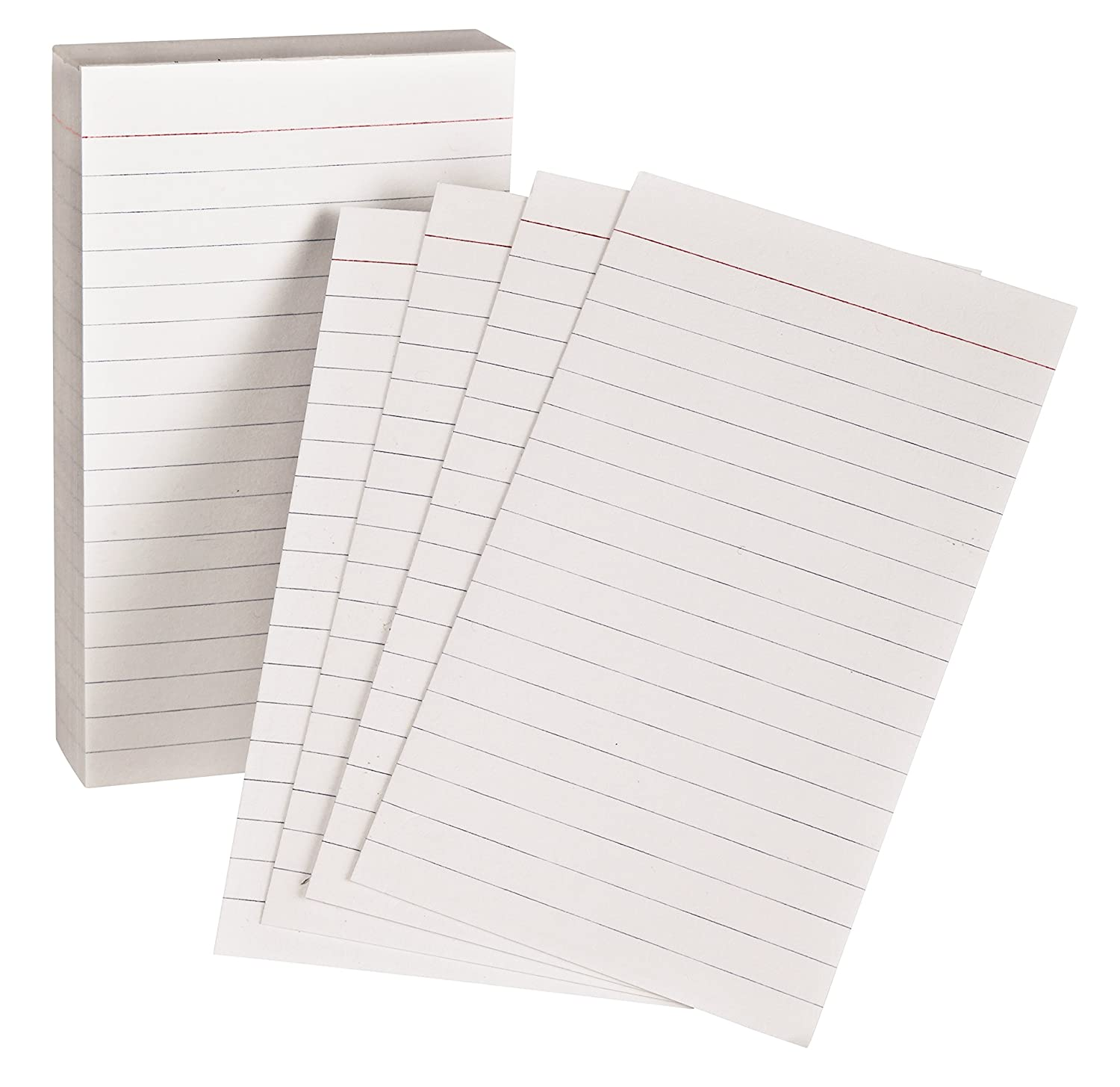 amazoncom oxford padded memo ruled index cards white 5 x 3 inches 100 per pack 006351 handhelds office products