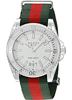 7b02b0f1cc8 Gucci GG2570 YA142304  Amazon.co.uk  Watches