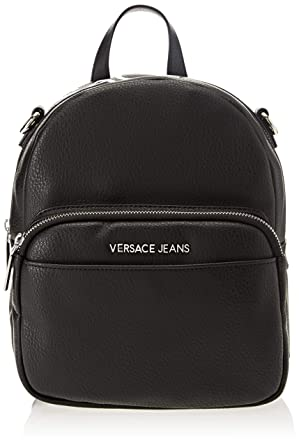 9de983155809 Amazon.com  Versace EE1VSBBB7 E899 Black Backpack for Womens  Clothing