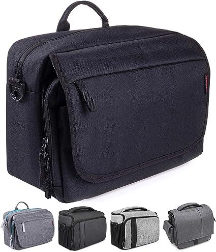 Bodyguard SLR Messenger Bag Photo Bag SLR para cámaras DSLR y ...