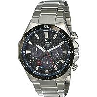 Casio Edifice Analog Black Dial Men's Watch - EQS-800CDB-1AVUDF (EX409)