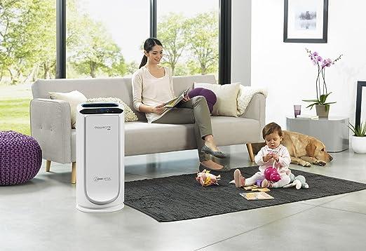 Rowenta Intense Pure Air PU6020 Purificador de Aire XL, para Habitaciones hasta 120 m², con sensores contaminación y ...