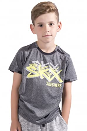 Skechers Boys Printed T Shirt Mesh