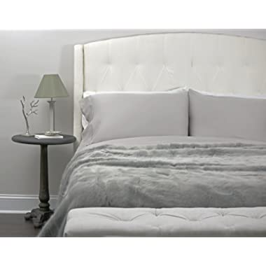 Paradise Bamboo Sheets by Oasis - 4 Piece Sheet Set - Softest Bed Sheets (King, Mist)