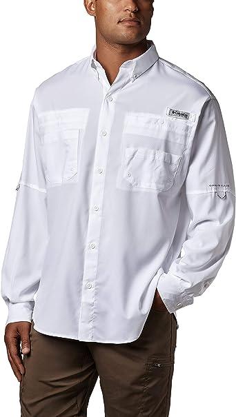 Columbia Tamiami II Long Sleeve Shirt Camiseta de Manga Larga, Hombre: Amazon.es: Ropa y accesorios