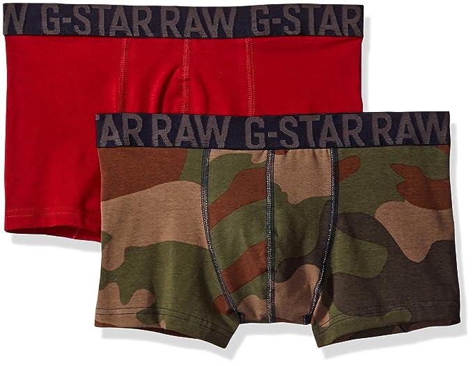 G-STAR RAW Wyddo CR Sport Trunk 2 Pack, Ropa Interior Técnica para Hombre