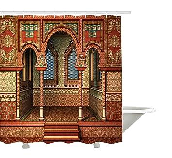 Arabesque Rideau de douche par Yeuss, Middle Eastern IntšŠrieur de ...