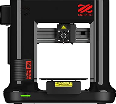 【Amazon.co.jp限定カラー】XYZプリンティング 3Dプリンターダヴィンチmini w+ブラック: Wifi 接続OK:組み立て済みの完成品:オートキャリブレーション機能付き:8kg以下の小型ボディ:造形サイズ150×150×150mm:型番3FM3WXJP01F