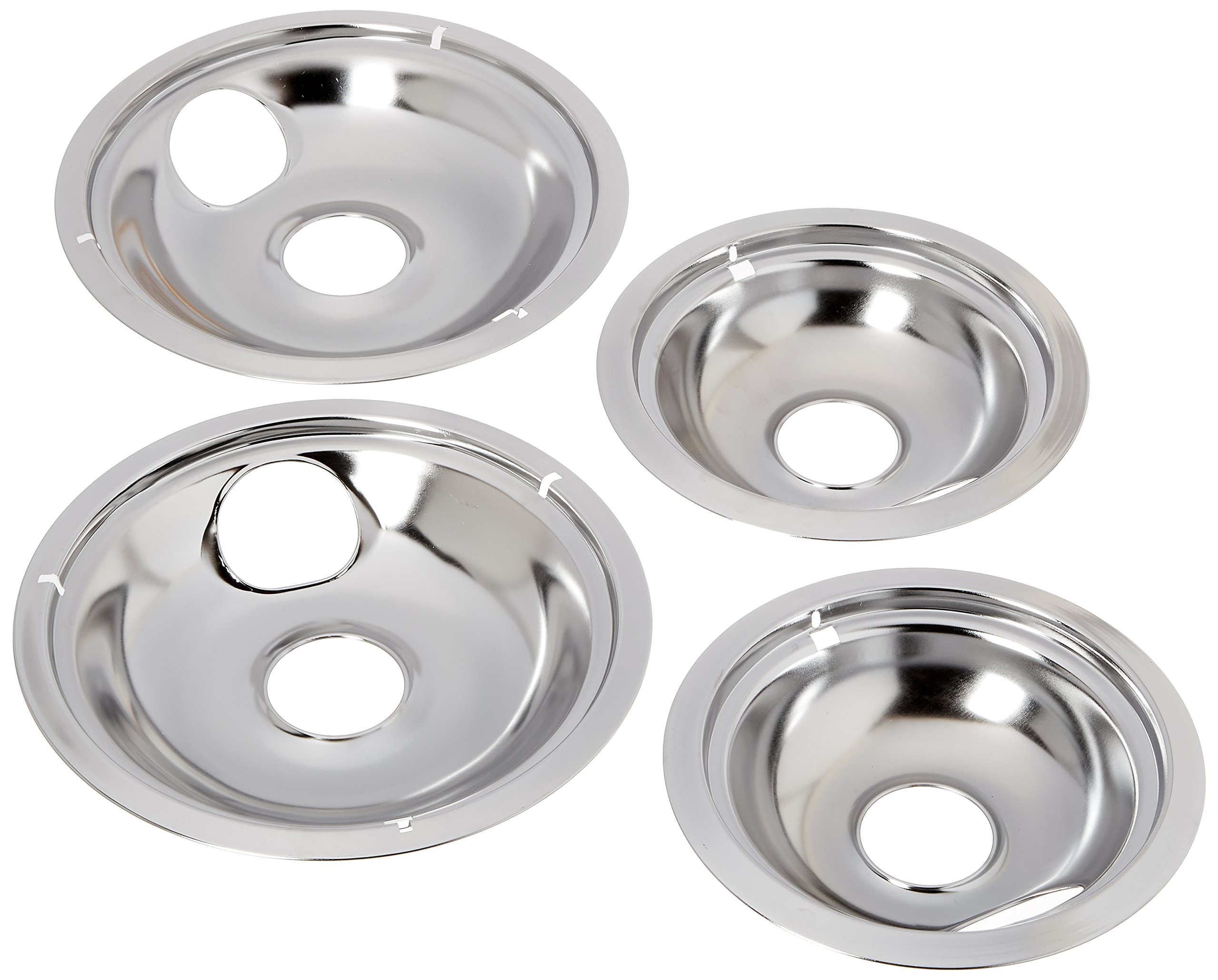 Stanco 4 Pack Universal Electric Range Chrome Reflector