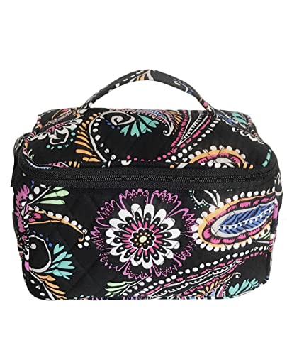 Amazon.com  Vera Bradley Travel Cosmetic Bag in Bandana Swirl  Shoes 7f432c6407
