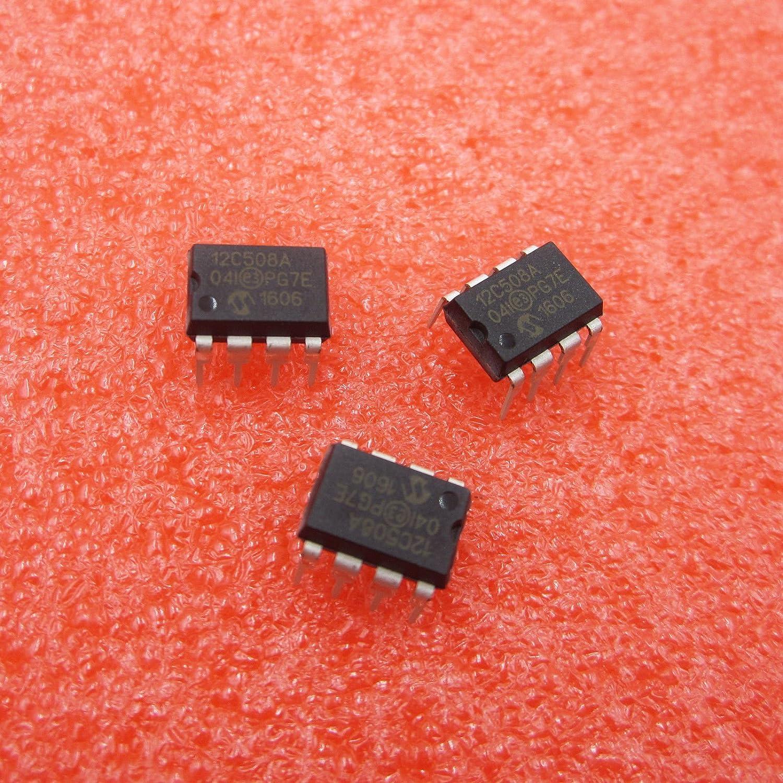2PCS PIC12C508A-04I//P DIP-8 PIC12C508 12C508A Brand New