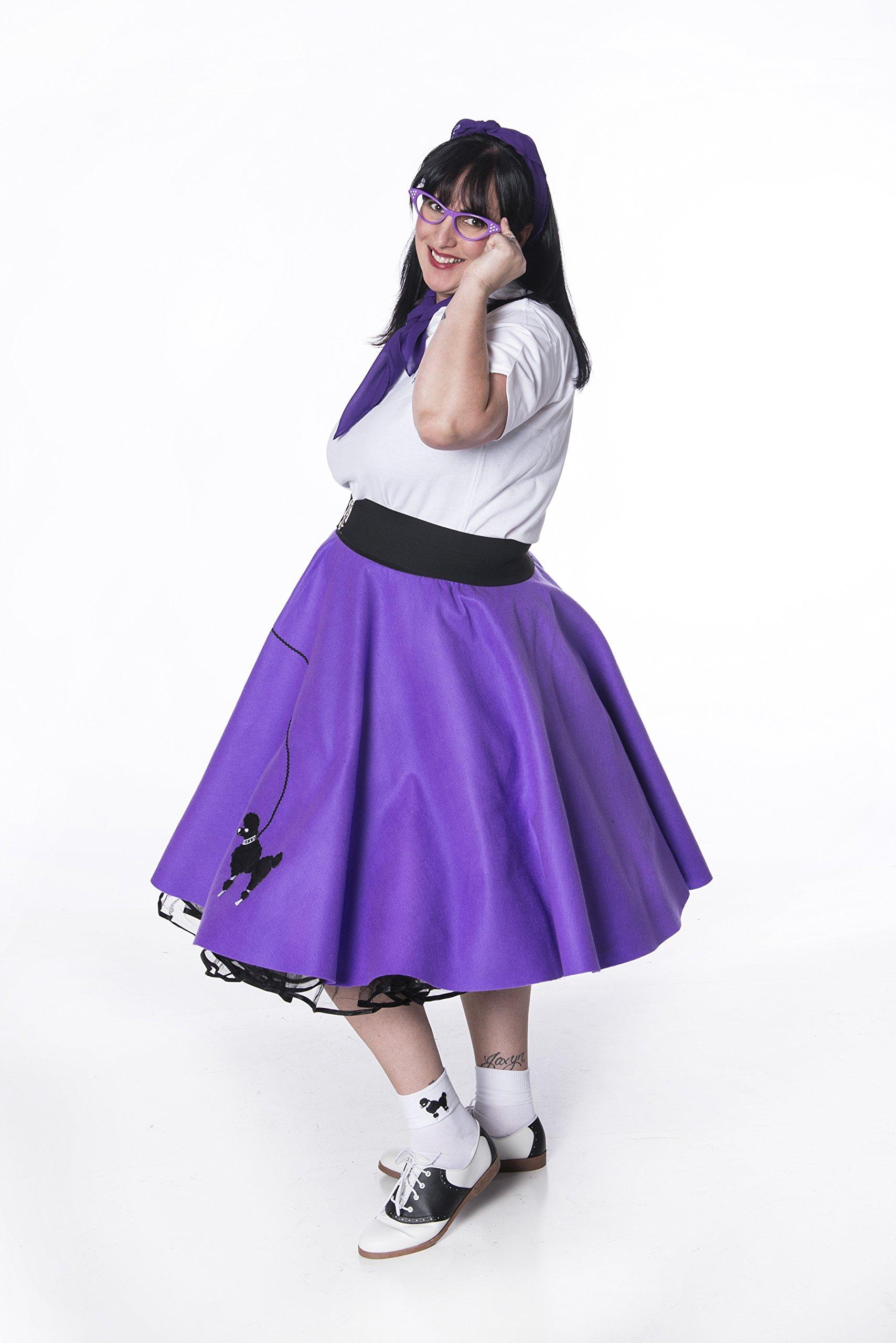 "Silver Clasp 50s Style Cinch 3"" Wide Elastic Belt for Women Junior and Plus Sizes Black M/L by Hip Hop 50s Shop (Image #5)"