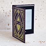 Harry Potter Themed Book Spells Kindle Paperwhite Cover (Hufflepuff Black)