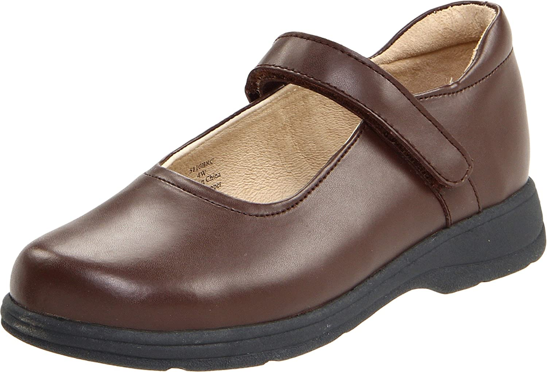 School Issue Prodigy 5100 Mary Jane Uniform Shoe (Toddler/Little Kid/Big Kid) B0058T4EUU 3 W US Little Kid|Brown Brc
