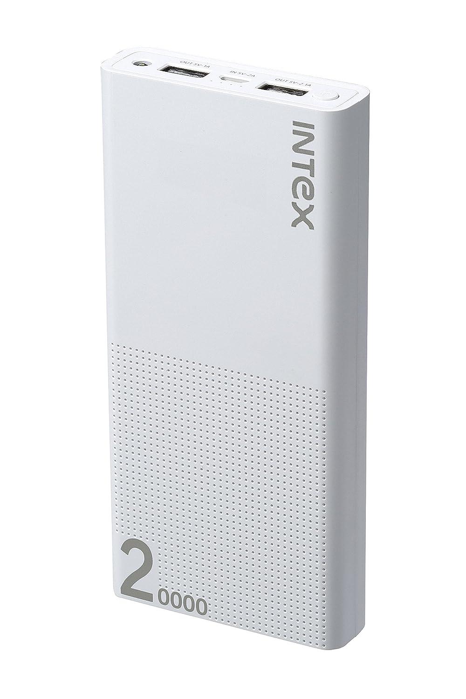 Intex IT-PBA 20K Poly 20000mAH Power Bank (White)