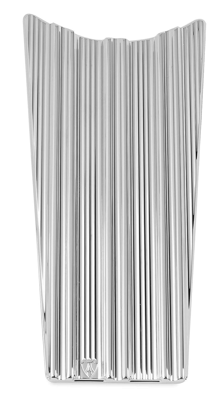 Arlen Ness 10-Gauge Dash Insert Chrome 04-224