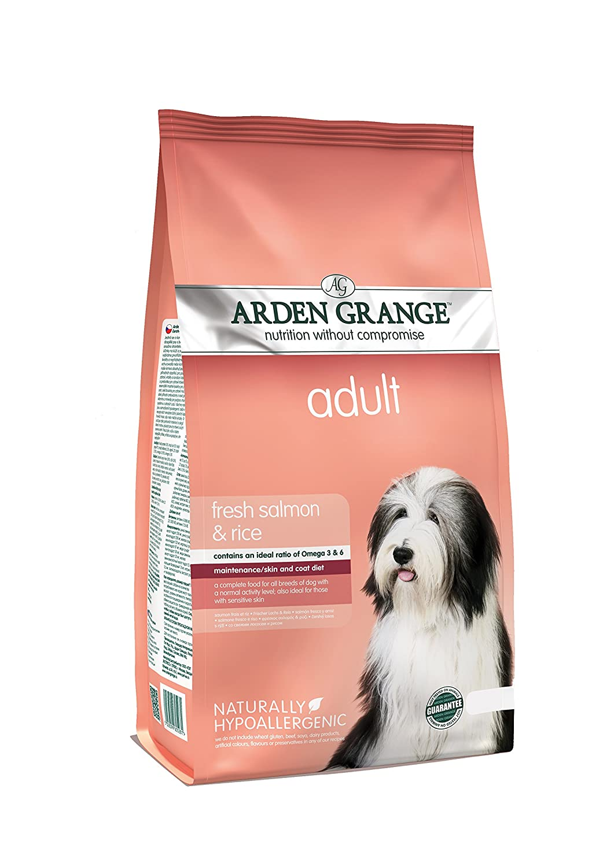 6f83a5a46a35 Arden Grange Nourriture pour chien adulte - Saumon et riz  Amazon.fr   Animalerie