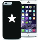 【WAYLLY】iPhone Plus [6/6s/7/8 Plus]専用ケース [くっつくケース] ウェイリー (STAR)