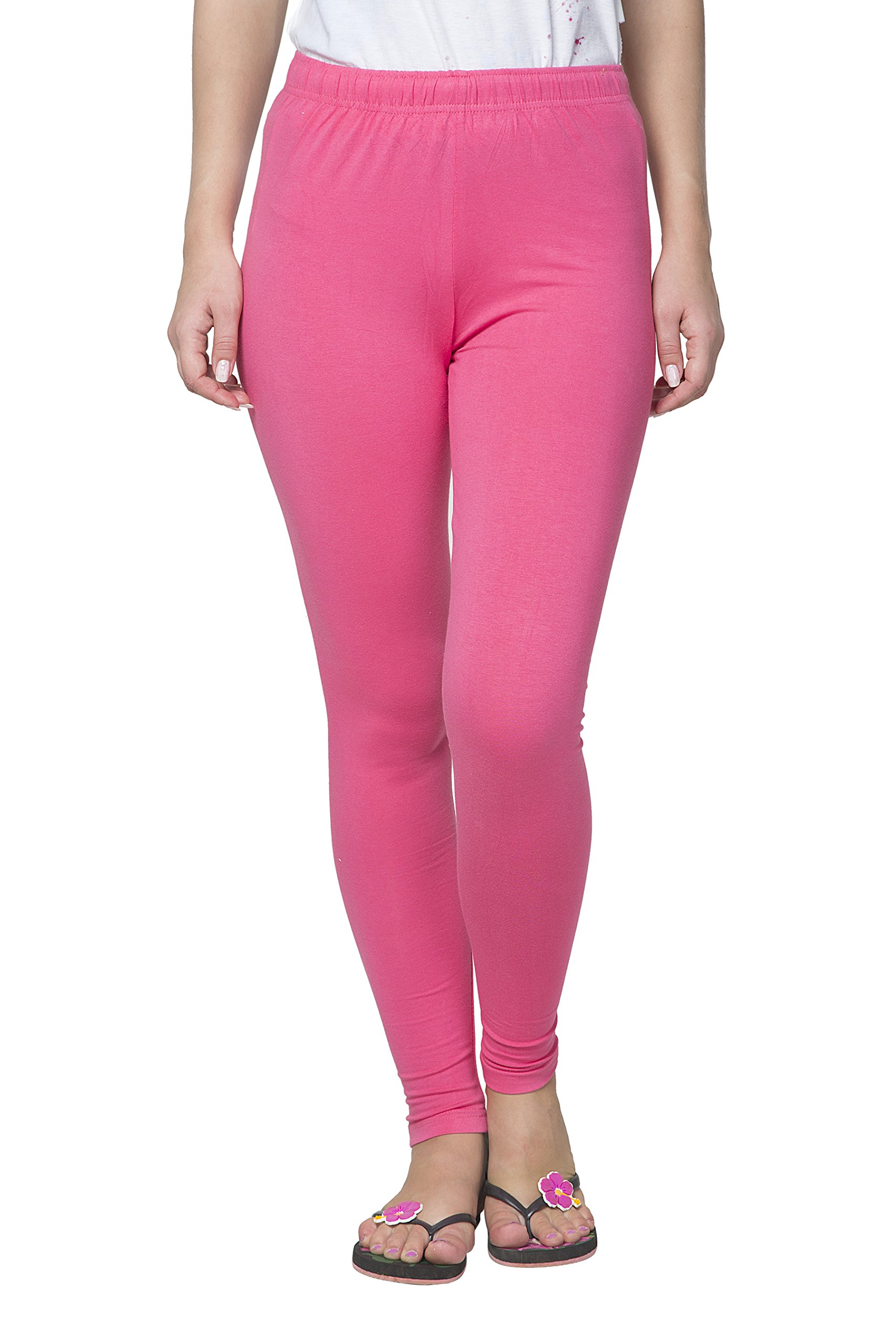 Clifton Women's Cotton Spandex Fine Jersey Leggings Pack Of 4-Assorted-2-XL by Clifton (Image #5)